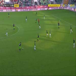 St. Gallen 0 - [2] Sporting CP: Wendel 25'