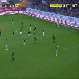 St. Gallen [2] - 2 Sporting CP: Hefti 52'