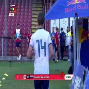 Vladislav Masalskii (Russia) red card vs. Italy, 89' [Universiade, 3rd place match]