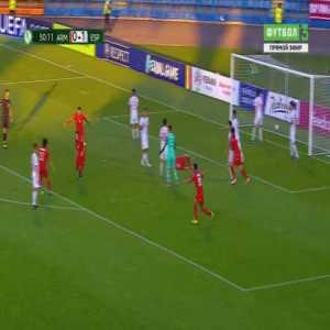 Armenia U19 [1]-1 Spain U19 - Arsen Yeghiazaryan 51'