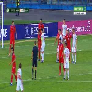 Armenia U19 1-[2] Spain U19 - Juan Miranda 58'