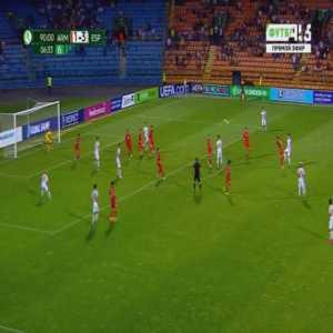Armenia U19 1-[4] Spain U19 - Victor Mollejo 90'+7'
