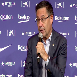 """Bartomeu (Barca President) on the Atletico's statement: """"I have spoken with them ... I understand that they defend their interests but I do not see that it has any positive evolution for them""""."""