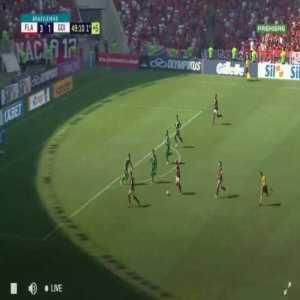 Flamengo [4] x 1 Goiás - Arrascaeta Hat Trick 45+4'