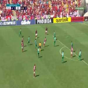 """Flamengo [5] x 1 Goiás - Gabriel """"Gabigol"""" Barbosa 55'"""
