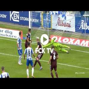 Great saves from Norweigan goalkeeper Sten Grytebust in todays league debut match for FC Copenhagen