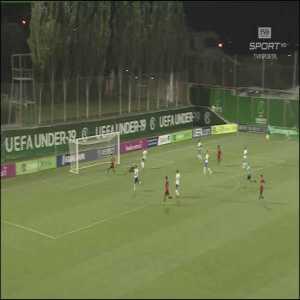 Italy U19 0-[2] Portugal U19 - Gonçalo Ramos 46'
