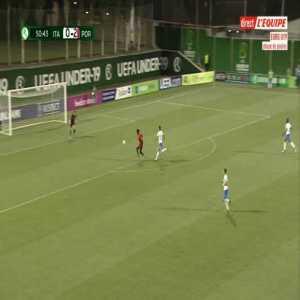 Italy U19 0-3 Portugal U19 - Felix Correia 51'