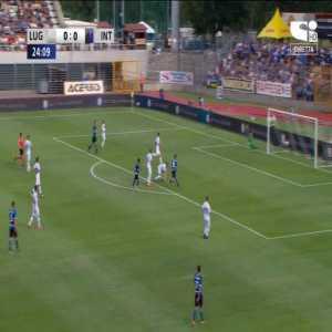 Lugano 0-1 Inter Milan - Stefano Sensi 25'
