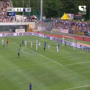 Lugano 0-2 Inter Milan - Marcelo Brozović 45+1'