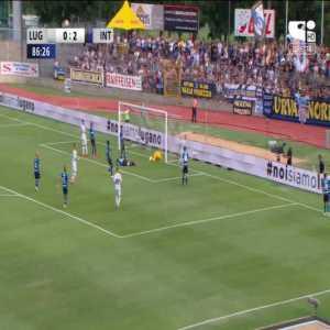 Lugano [1]-2 Inter Milan - Leotrim Kryeziu 87'