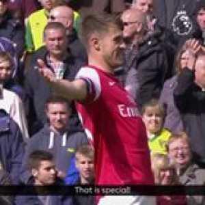 🔥 on Aaron Ramsey's right foot Arsenal GoalOfTheDay