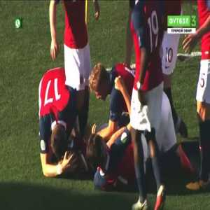 Norway 1 vs 1 Ireland - Full Highlights & Goals - Euro Sub-19