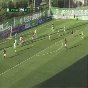 Norway U19 [1]-0 Ireland U19 - Erik Botheim 8'