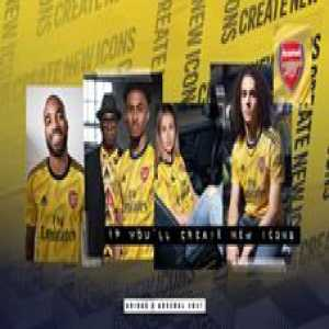 Arsenal's new away kit has landed 👇  Thoughts?
