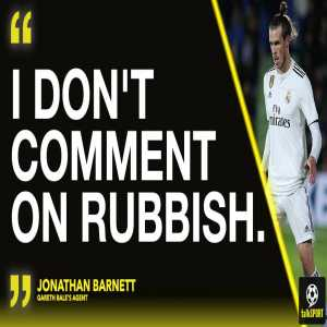 """BREAKING: Gareth Bale's agent, Jonathan Barnett, has told talkSPORT that Tottenham have NOT bid for the Welshman. Barnett declined to appear on the station but gave us this short statement: """"I don't comment on rubbish."""""""