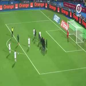 How The Algerian Assistant Coach Saved Algeria From Conceding an Equalizer Immediately After Mahrez's Goal...