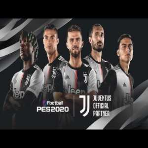 """Juventus Turin partnering up with Konami for an """"exclusive"""" deal for PES 2020."""