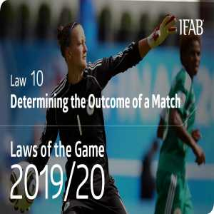 New: LAW CHANGES 2019/20 ⚽️ Goalkeepers cannot score by throwing the ball directly into the opponents' goal – if they do, a goal kick is awarded to the opposing team.