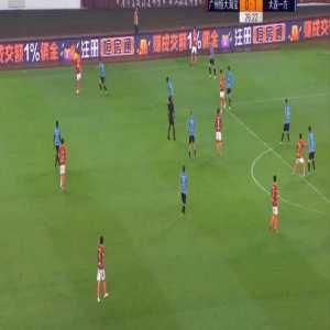 Paulinho (Guangzhou Evergrnade) goal vs Dalian Yifang