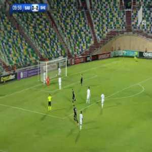 Saburtalo Tbilisi 0-3 Sheriff Tiraspol [3-3 on agg.] - Robert Tambe 10'