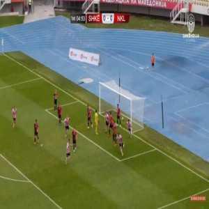 Shkendija 0-1 Kalju [1-1 on agg.] - Maximiliano Ugge 5'