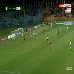 Armenia U19 0-2 Italy U19 - Davide Merola 32'