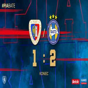 BATE have been qualified for the UEFA Champions League 2nd Round. Piast have been eliminated