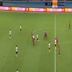Hulk (Shanghai SIPG) goal vs Hebei China