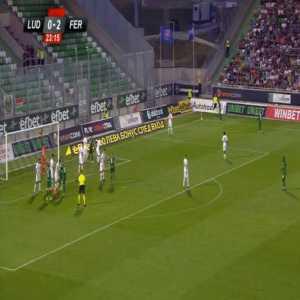 Ludogorets [1]-2 Ferencvaros [2-4 on agg.] - Georgi Terziev 24'