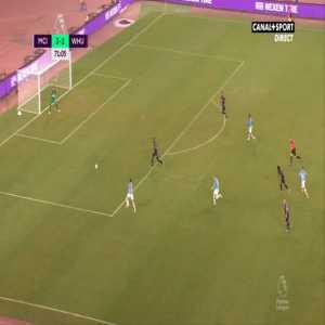 Manchester City [4]-1 West Ham - Raheem Sterling 72'