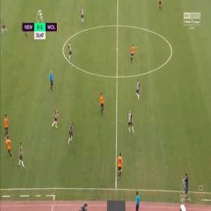 Newcastle United 0-2 Wolves - Morgan Gibbs-White 32' [Premier League Asia Trophy]