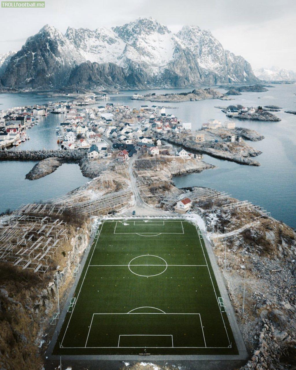 Norwegian Soccer Pitch