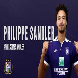 Philippe Sandler joins Anderlecht on loan from Manchester City