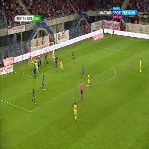 Piast Gliwice 1-[2] BATE Borisov - Zakhar Volkov 87'