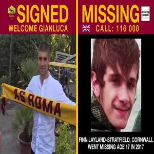 [Roma] absolutely wonderful initiative: 🇬🇧 ASRoma is working with @missingpeople to use transfer announcements on Twitter to help search for missing children - including these 4 who went missing in the UK. 🇬🇧