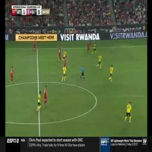Arsenal 1-1 Bayern Munich: Robert Lewandowski goal