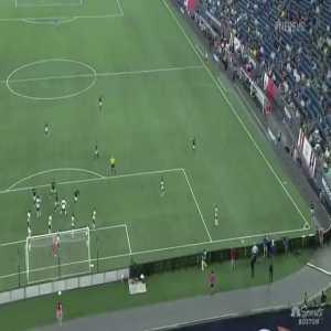 Bou 1-0 Debut Goal [New England Revolution] vs Vancouver