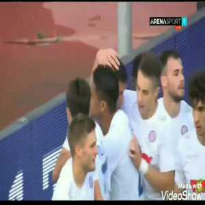 Hajduk Split 1-[1] Gżira United - Jefferson 57'