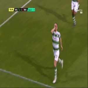 Jack Byrne Goal, Shamrock Rovers 3 v 3 Brann