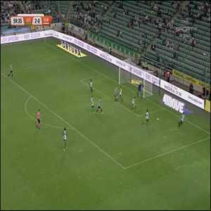 Legia Warszawa [3]-0 Europa FC - Carlitos 60' | agg. [3]-0