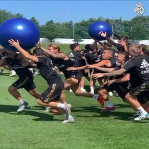 Real Madrid training regiment