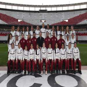 River Plate presented their first professional women's football team