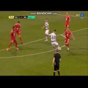 Shamrock Rovers [3] 1 vs 1 [3] Brann, Jack Byrne Goal