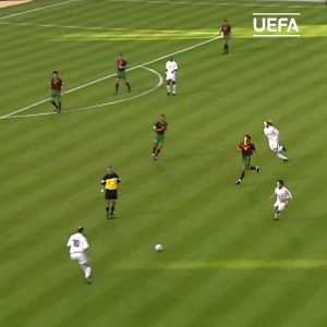 Video of Zidane at Euro 2000 showing some skills vs Portugal in the semi final