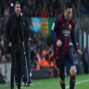 "Diego Simeone: ""Messi is the best player in the world, why wouldn't I want to coach him!"""