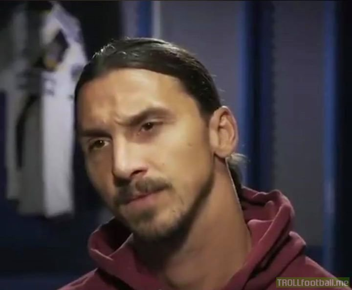Reporter: You said you're the best player in MLS. But there's Carlos Vela, who has 19 goals and 12 assists. Do you still consider yourself the best?  Zlatan: By far. How old is he?  Reporter: 29  Zlatan: He's in his prime playing in MLS. When I was 29, where was I?   Reporter: Europe   Zlatan: Exactly, big difference.