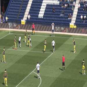 Billy Bodin (Preston) brilliant goal against Southampton ([1]-1)
