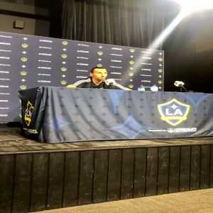 "Zlatan post game on Vela comparisons from media: ""You made one mistake, you compare him to me. That was your biggest mistake."""