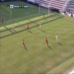 Bordeaux [2] - 1 Montpellier : Nicholas De Préville 53' - Free Kick Goal